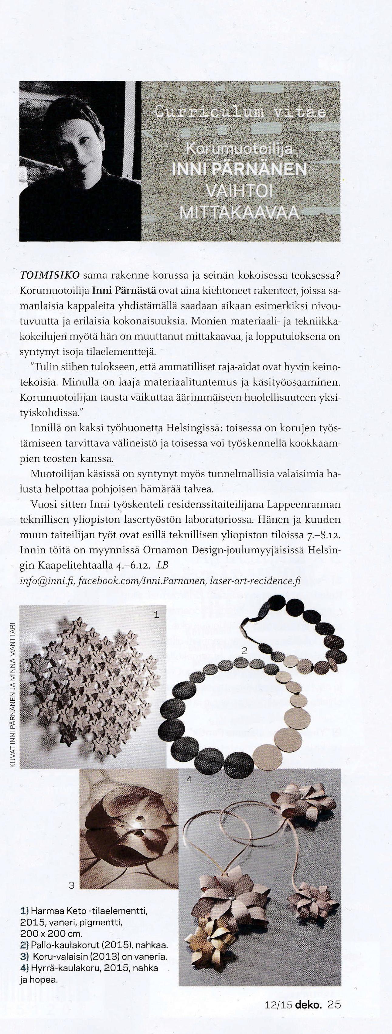 Inni in Deko Magazine